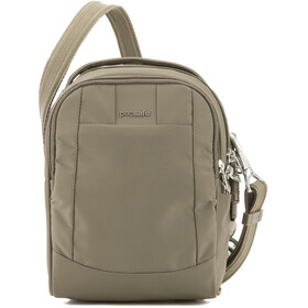 Pacsafe Metrosafe LS100 Crossbody Tas, earth khaki